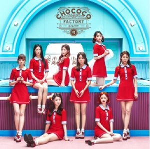 韓国CD(K-POP)「 ググダンgugudan 『CHOCOCO FACTORY』 (1st Single album) 」画像